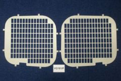 Van Guard Rear Windows Security Grille