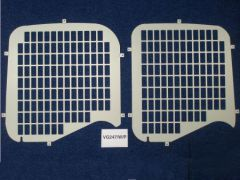 Van Guard Rear Windows Security Grille (Cut out for Wiper)