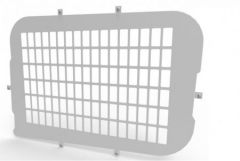 Van Guard Side Window Security Grille