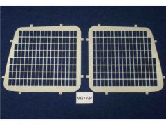 Van Guard Rear Windows Security Grille (Cut out for Brake Light)