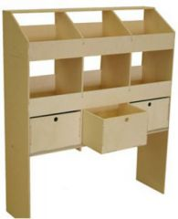 Van Guard Ply Racking 6 Pigeon Holes & 3 Drawers (300mm)