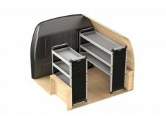 Van Guard Aluminium Racking Kit (SWB)