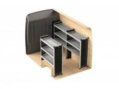 Van Guard Aluminium Racking Kit (SWB, High Roof)
