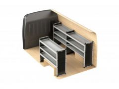 Van Guard Aluminium Racking Kit (LWB, Std Roof)
