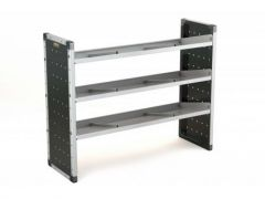 Van Guard Aluminium Racking 2x Flat, 1x Angled Shelves
