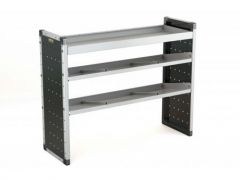 Van Guard Aluminium Racking 1x Flat, 2x Angled Shelves