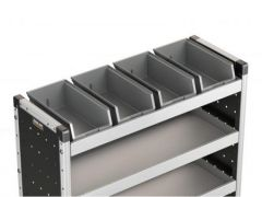 Van Guard 4x Bins & Rubber Matting for 1000mm Racking