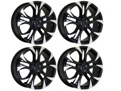 "Wolfrace Assassin GT2 18"" Black & Polished Alloy Wheels"