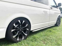 "Wolfrace Assassin 18"" Gloss Black & Polished Alloy Wheel"