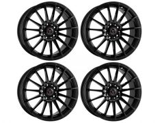 "Wolfrace Turismo 18"" Gloss Black Alloy Wheels"